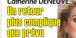 Catherine Deneuve- rentrée compliquée après son AVC - charge odieuse d'un célèbre journaliste