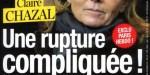 """Claire Chazal, """"une rupture compliquée, ça """"crise"""" avec Nicolas Escoulan (photo)"""