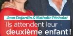Jean Dujardin et Nathalie Péchalat attendent leur deuxième enfant (photo)