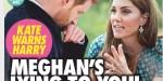 "Kate Middleton met encore en garde en Harry - ""Meghan Markle te ment"" (photo)"