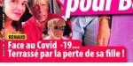 """Renaud face au covid-19, terrassé par """"la perte"""" de sa fille"""