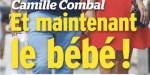 Camille Combal, bébé avec Marie - Il ouvre enfin son cœur