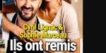 """Cyril Lignac, Sophie Marceau, ils ont remis le couvert, """"crise"""" avec Déborah, sa tropézienne"""