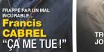 Francis Cabrel frappé par un mal incurable, «Ça me tue»