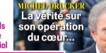 Michel Drucker, opéré du coeur, l'inquiétant silence de France 2