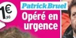 Patrick Bruel, opéré d'urgence du genou après une chute,  éprouvante rééducation