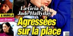 Laeticia et Jade Hallyday, agressées sur la place publique, (photo)
