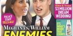 """Meghan Markle, Prince William, """"ennemis pour la vie"""", nouvelle provocatrice de la duchesse"""