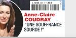 Anne-Claire Coudray, triste séparation, une souffrance sourde qu'elle ose exprimer