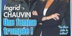 Ingrid Chauvin divorcée, infidélité, sa décision implacable