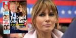 Melania Trump, ça chauffe avec Donald, l'anniversaire de leur mariage au tribunal