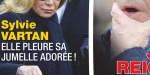 Sylvie Vartan en deuil - Elle pleure sa jumelle adorée (photo)