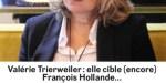 Valérie Trierweiler, gros moment de gêne, sa salve contre François Hollande
