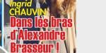 Ingrid Chauvin, trop proche d'Alexandra Brasseur en deuil, la photo qui en dit long
