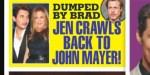 Jennifer Aniston lâchée par Brad Pitt, elle se console avec John Mayer