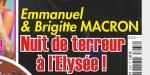 Emmanuel et Brigitte Macron, une nuit de terreur à l'Élysée (photo)