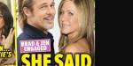 Jennifer Aniston, oui au mariage avec Brad Pitt - elle exhibe sa bague de fiançailles (photo)