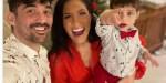 Zaho et Florent Mothe officialisent pour Noël, ils posent avec leur fils Naïm (photo)