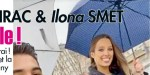 Kendji Girac et Ilona Smet ensemble, une belle complicité après le tournage d'un clip