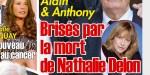 Alain et Anthony Delon, brisés par la mort de Nathalie, le coup de grâce (photo)