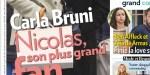 Carla Bruni fait l'unanimité aux Enfoirés, Nicolas Sarkozy, son plus grand fan