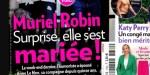 Mariage de Muriel Robin et Anne Le Nen, Line Renaud témoin (photo)