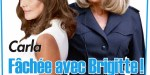 Brigitte Macron fâchée avec Carla Bruni, le dialogue constructif rompu