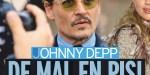 Johnny Depp, le bras long- son ex Amber Heard écartée d'un projet, la raison