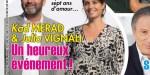 Kad Merad et Julia Vignali, après sept ans d'amour, un heureux événement