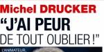 Michel Drucker amnésique, sa pire crainte, l'animateur se livre
