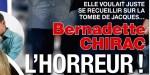 Bernadette Chirac, l'horreur en se recueillant sur la tombe de Jacques