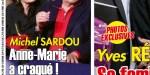 Michel Sardou, ça chauffe avec Anne-Marie Périer - sa femme craque