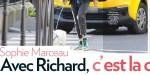 Sophie Marceau, avec Richard C, c'est la crise, en larmes dans les rues de Paris