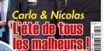 Carla Bruni et Nicolas Sarkozy, l'été de tous les malheurs