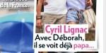 Cyril Lignac et Déborah amoureux et fusionnels, leur bébé tarde à venir