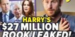 Prince Harry, des fuites dans son autobiographie à 27 millions, le violent chapitre écrit par Meghan Markle