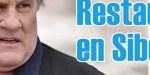 Gérard Depardieu, avec Carole Bouquet, une autre page se tourne, un projet lancé en Sibérie
