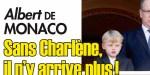 Albert de Monaco, sans Charlène, il n'y arrive plus, un vrai cri de désespoir