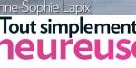 Anne-Sophie Lapix doux moments avec Arthur à Paris, fusionnes et actionnés l'un avec l'autre