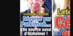 Catherine Laborde face au calvaire de l'Alzheimer, enfin une nouvelle rassurante
