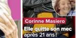 Corinne Masiero séparée de Nicolas Grard après 21 ans