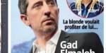 Gad Elmaleh trahi et utilisé par Virgilia, une ex, il prend une décision radicale