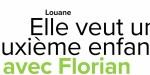 Louane, elle veut un deuxième enfant avec Florian, sa confidence