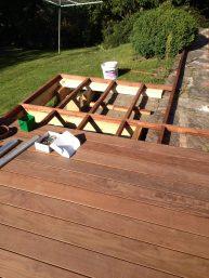 le gout du bois terrasse en IPE bois