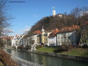 Capitale Slovénie Ljubljana
