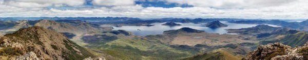 Partir en Australie - Lake Pedder