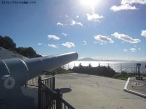 Gibraltar - Canon de 100 tonnes