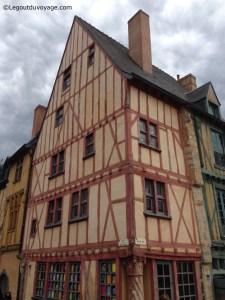 Visiter le Mans - Maison du Pilier Rouge