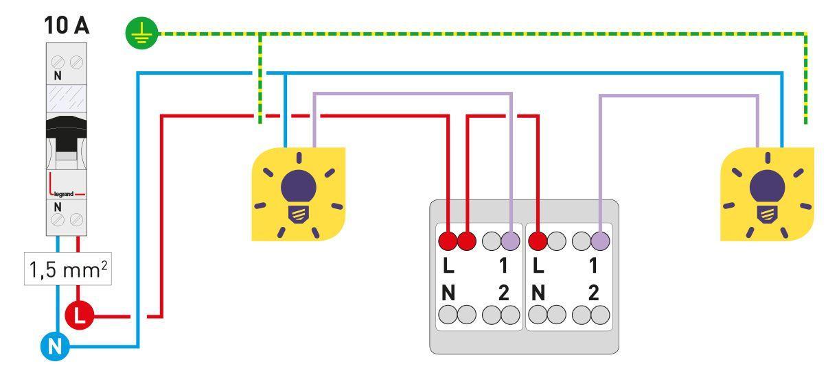 Comment Fait On Pour Installer Un Interrupteur Double Allumage Espace Grand Public Legrand