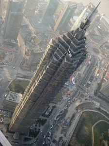 250px-JinMao_Tower_von_oben